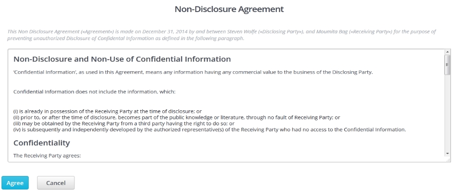 Starting A Contest  How Do I Choose NonDisclosure Agreement Nda